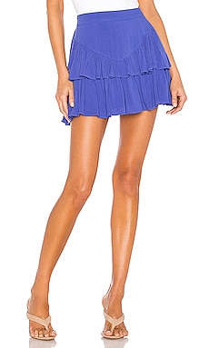 Becky Ruffle Tier Skirt superdown $56