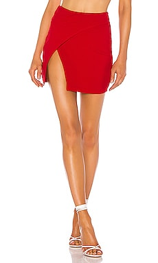 Kourtney Wrap Skirt superdown $50