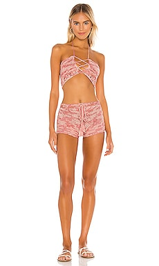 Tawnie Crochet Short Set superdown $41