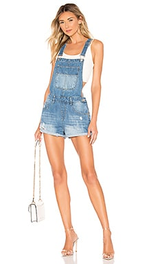 Carmen Denim Short Overalls superdown $68