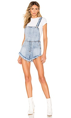 Diem Overall Shorts superdown $26