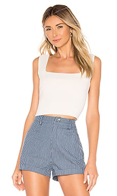 Merna Square Neck Top superdown $38 BEST SELLER