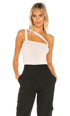 Willow Asymmetric Knit Top superdown $38 NEW ARRIVAL