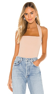 Candice Halter Bodysuit superdown $46