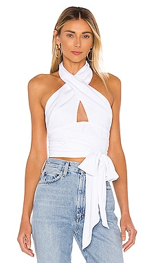 Jennifer Wrap Top superdown $52 BEST SELLER