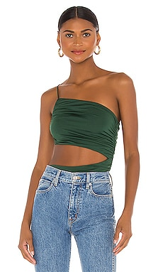 Veronica Cut Out Bodysuit superdown $52