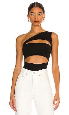 Tori Cut Out Bodysuit superdown $54