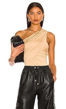 Bailee One Shoulder Bodysuit superdown $52