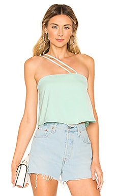 Remington One Shoulder Top superdown $19 (FINAL SALE)