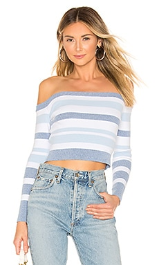 Theresa Off Shoulder Top superdown $48