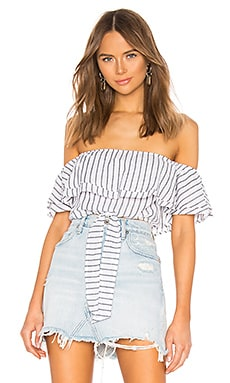 Rita Off Shoulder Top superdown $40