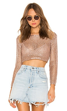 Tiana Mesh Top superdown $42