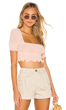 TOP AVEC SMOCKS LEXI superdown $52