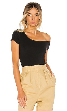 Felicia Asymmetrical Bodysuit superdown $48