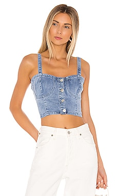 TOP DENIM CARRIE superdown $31