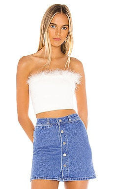 Olivia Strapless Top superdown $38 BEST SELLER