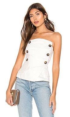 Hilary Double Breasted Top superdown $48
