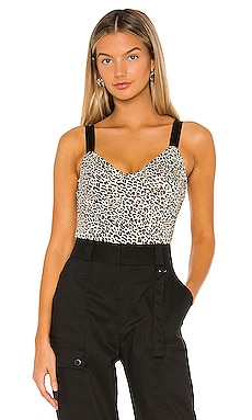 Lizzie Bustier Bodysuit superdown $54