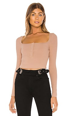 Colette Snap Front Top superdown $50