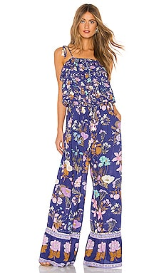 Wild Bloom Strappy Pantsuit Spell & The Gypsy Collective $205
