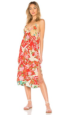 x REVOLVE Delilah Patchwork Slip Dress