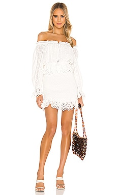 Daisy Chain Ruched Mini Dress Spell & The Gypsy Collective $249