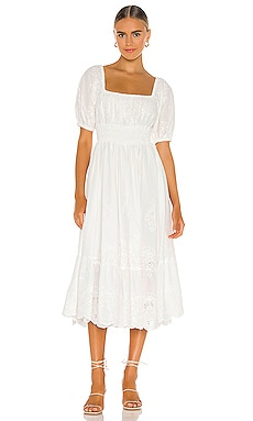 Capulet Broderie Anglaise Soiree Dress Spell & The Gypsy Collective $329 NEW