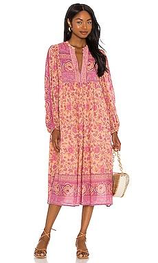 Folk Song Boho Dress SPELL $269 Sustainable