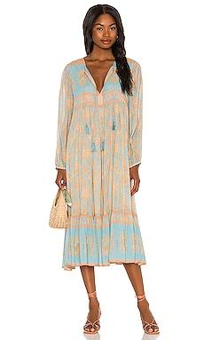 Juniper Boho Midi Dress SPELL $269 NEW