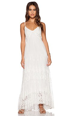 Spell & The Gypsy Collective Ophelia Maxi Dress in White