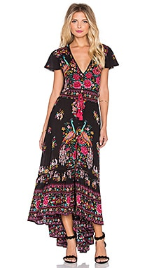 Spell & The Gypsy Collective Hotel Paradiso Maxi Dress in Jet