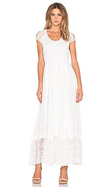 Spell & The Gypsy Collective Wilde Belle Gown in White