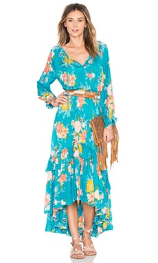 Spell & The Gypsy Collective Jagger Dress in Teal