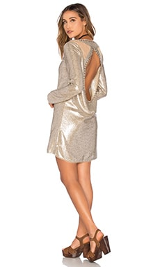 Spell & The Gypsy Collective Bond Girl Mini Dress in Gold