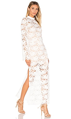 Spell & The Gypsy Collective Rosamond Lace Dress in White