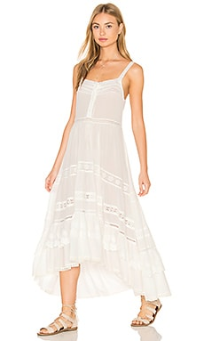 Spell & The Gypsy Prairie Sun Dress in White