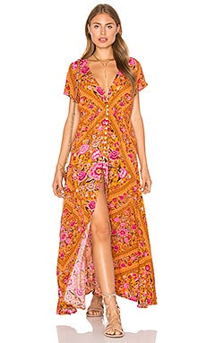 Spell & The Gypsy Collective Babushka Dress in Amber