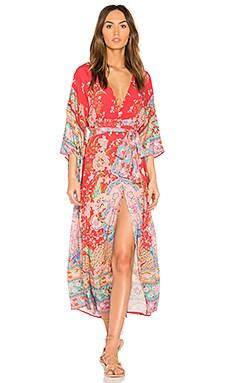Lotus Kimono Gown