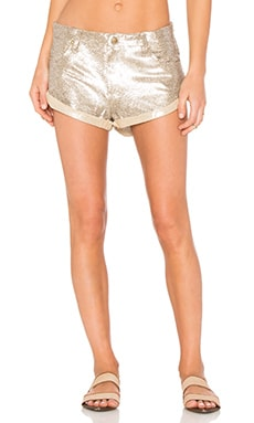 Spell & The Gypsy Collective Bond Girl Short in Gold