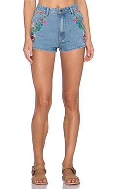 Spell & The Gypsy Collective Love Child Short in Denim