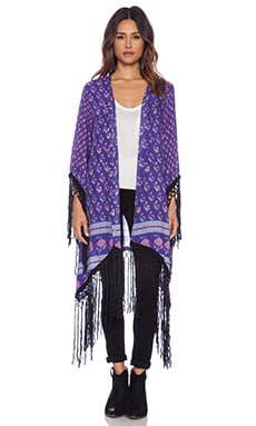 Spell & The Gypsy Collective x REVOLVE Exclusive Tassel Kimono in Deep Purple