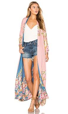 Blue Skies Luxe Reversible Kimono