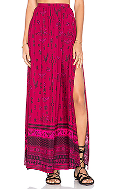 Spell & The Gypsy Collective Phoenix Maxi Skirt in Magenta