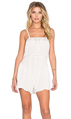 Coco Romper in White