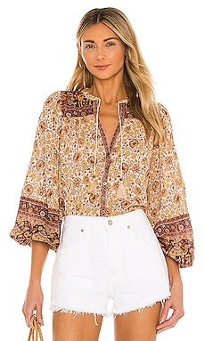 X REVOLVE Sundown Blouse Spell $179 NEW