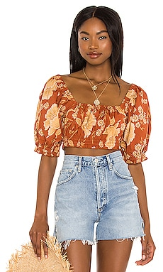 Sloan Cropped Top Spell $109 NEW