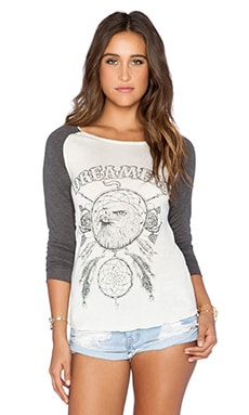 Spell & The Gypsy Collective Dreamers Raglan in Off White