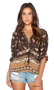 Spell & The Gypsy Collective Phoenix Blouse in Mustang