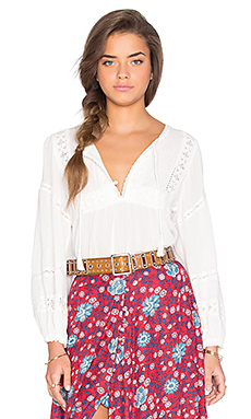 Spell & The Gypsy Collective Boho Bella Blouse in White
