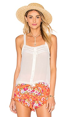 Spell & The Gypsy Collective Prairie Lace Top in White